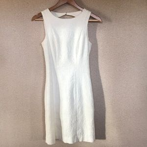 H&M Fitted White Dress